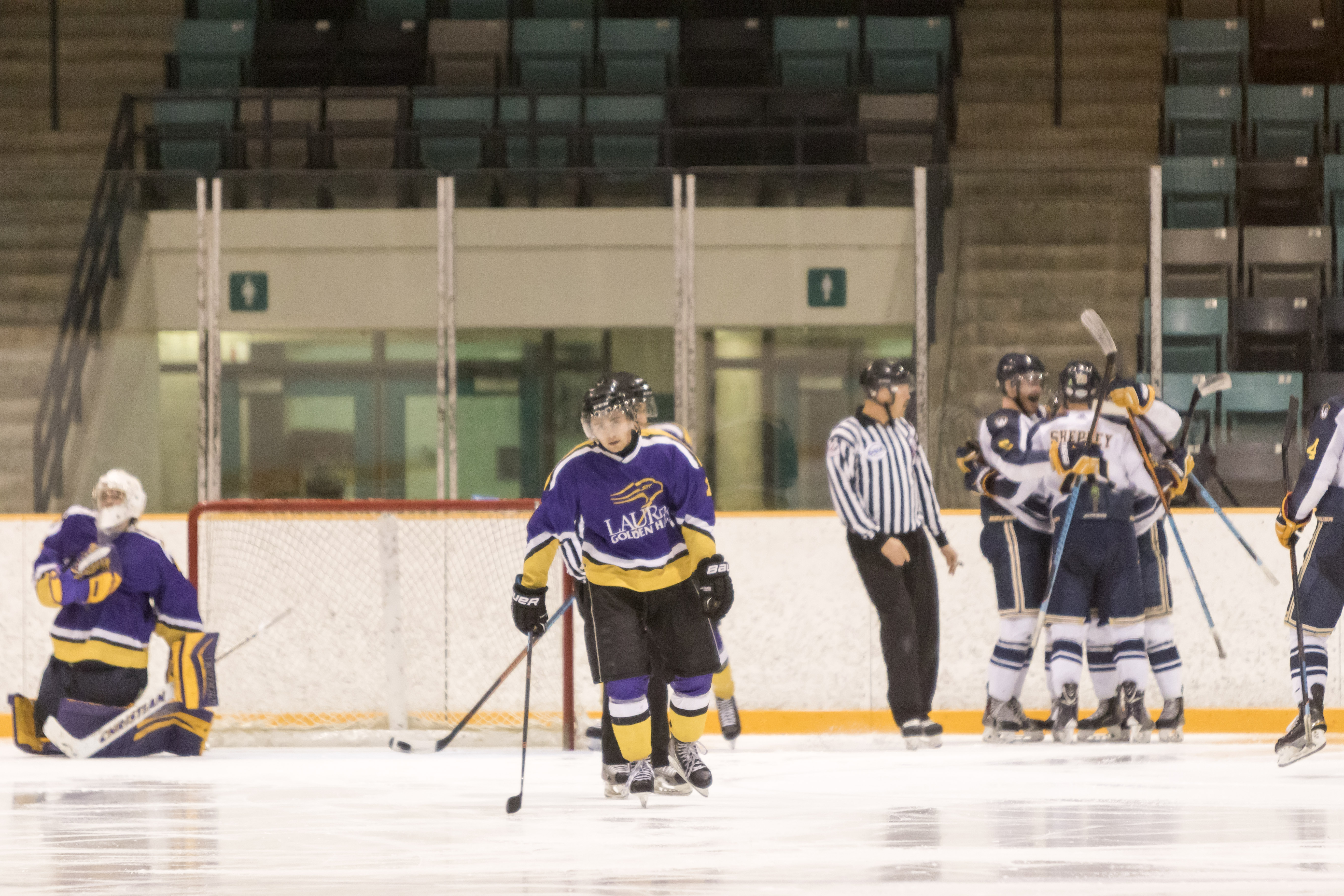 It was the little things that beat the Wilfrid Laurier men's hockey team.
