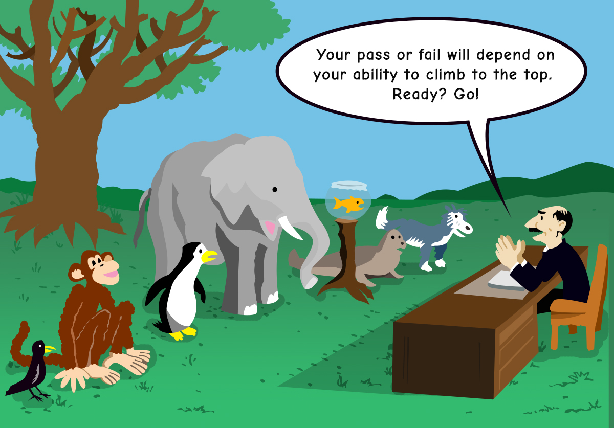 Standardized testing is limiting academic performance evaluation