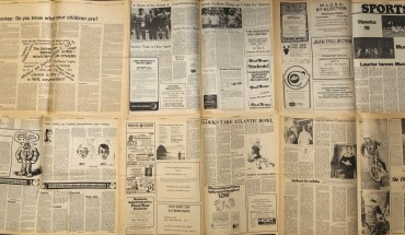 newspaper banner (Andreas) online