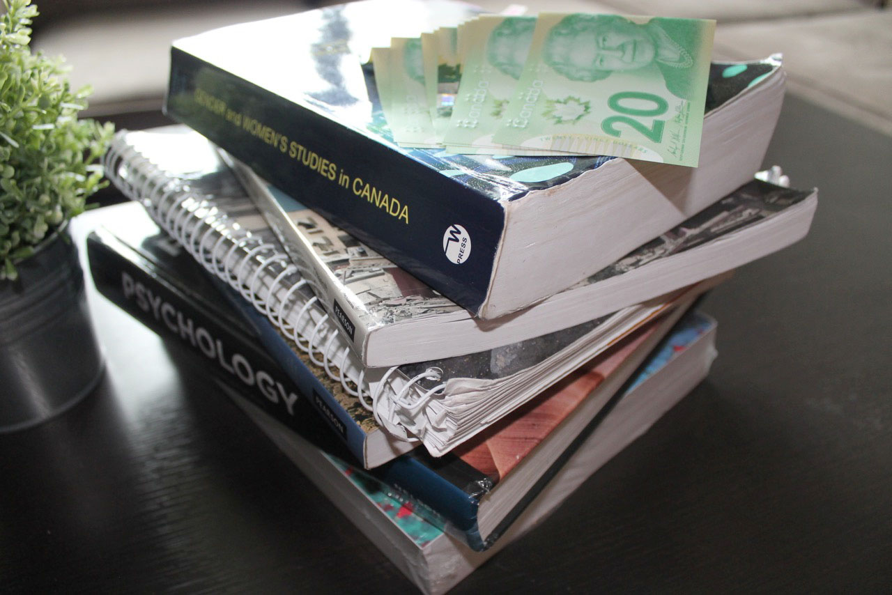 Textbook costs can be truly ridiculous
